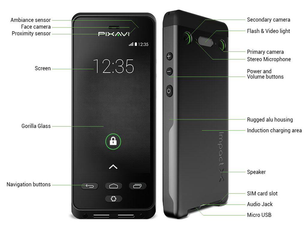 Bartec Pixavi Impact X: Intrinsically Safe Smartphone