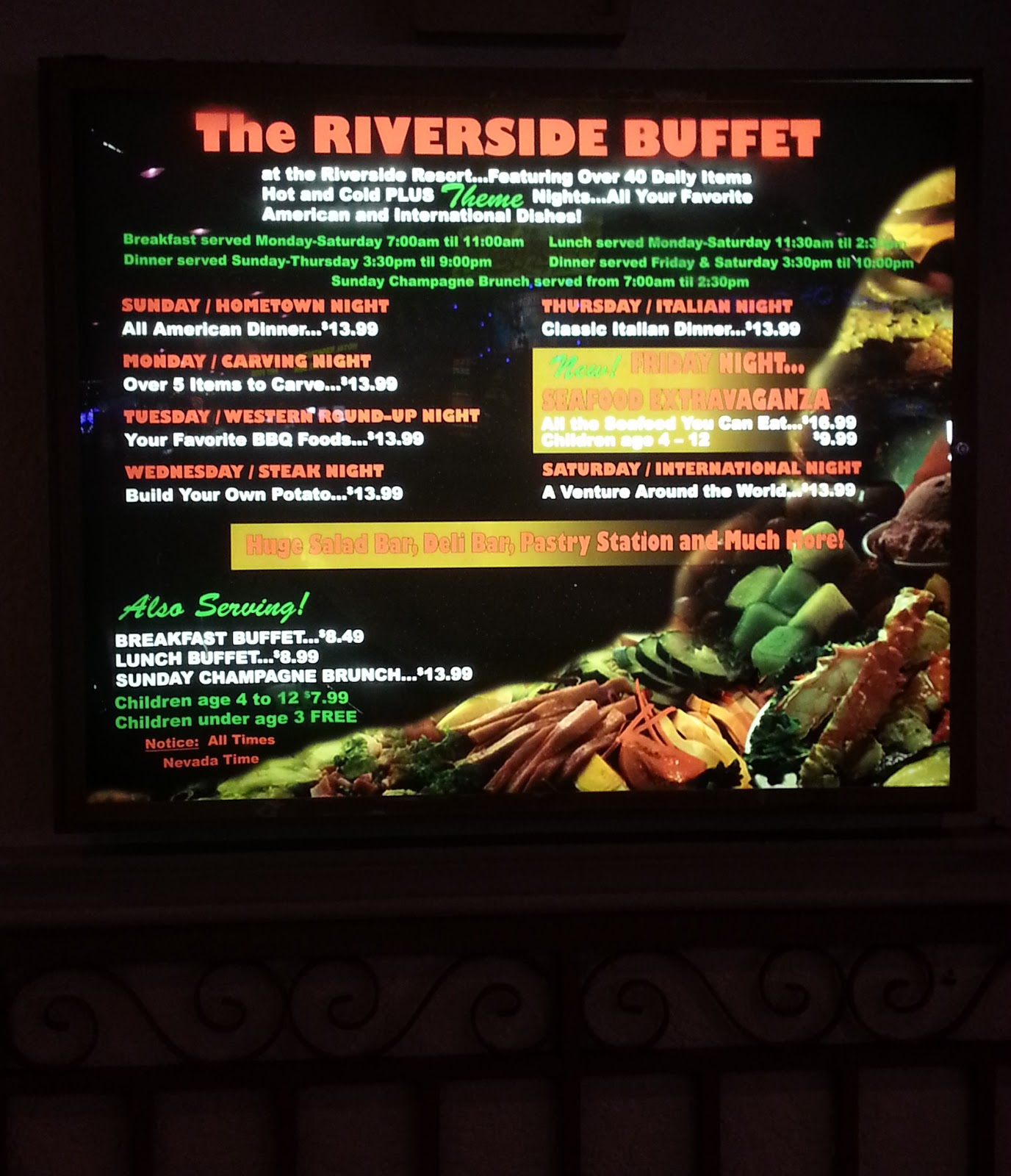 laughlin buzz riverside casino sunday brunch laughin nv rh laughlinbuzz blogspot com riverside casino buffet laughlin riverside casino buffet laughlin nv