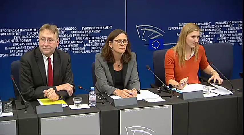 Conferencia de Prensa sobre las nuevas medidas de Transparencia en el TTIP
