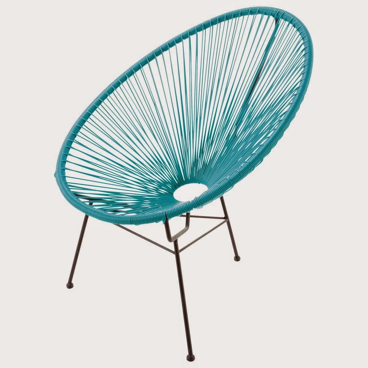 fauteuil acapulco ou scoubidou caract rielle