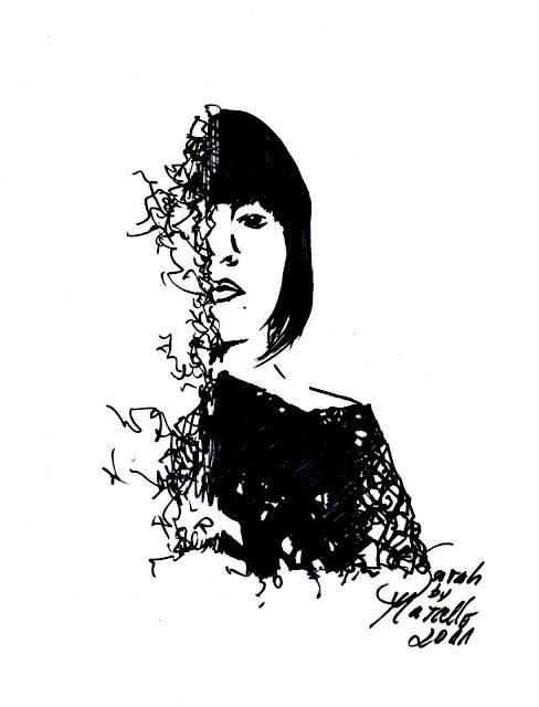 Sketch: Sarah