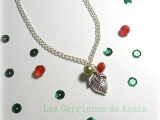 Collar Fresa Los Caprichos de Anais