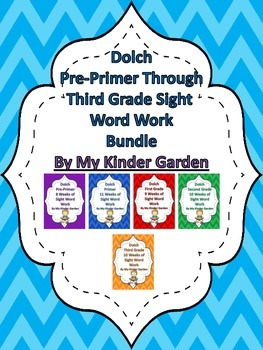 http://www.teacherspayteachers.com/Product/Dolch-Sight-Word-Work-Bundle-Pre-Primer-Third-Grade-702387