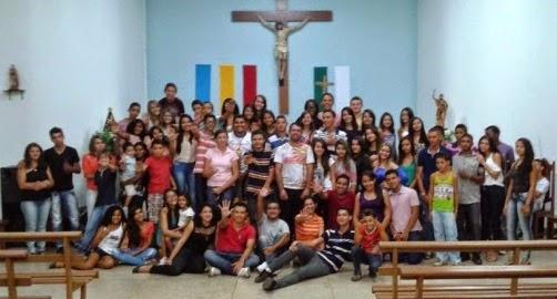 Juventude de Jaú recebe jovens de Alvorada, Figueirópolis e Cariri para assumirem identidade de jovens missionários