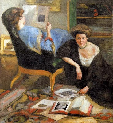 Robert Breyer. Women Reading, 1909