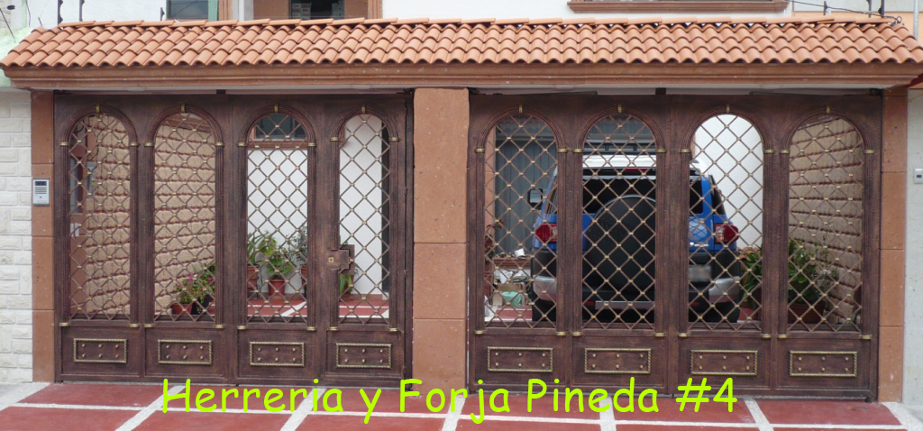 1000 images about trabajo on pinterest iron gates for Puerta zaguan aluminio
