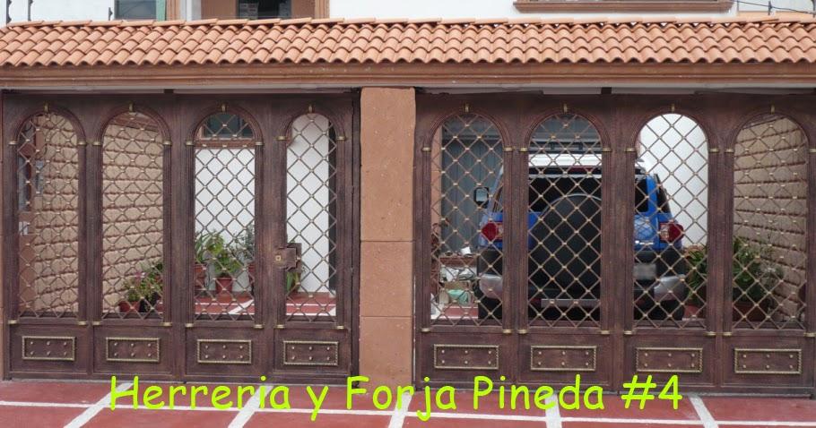 Herreria y forja pineda for Zaguan de casas modernas