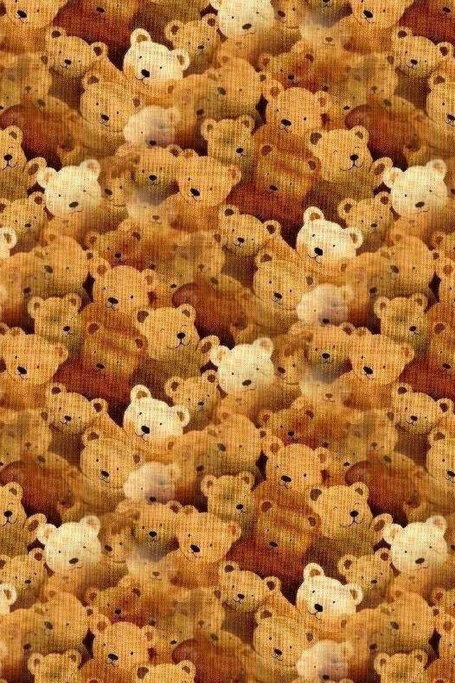 Cool Iphone Wallpapers Lotsa Teddy Bears