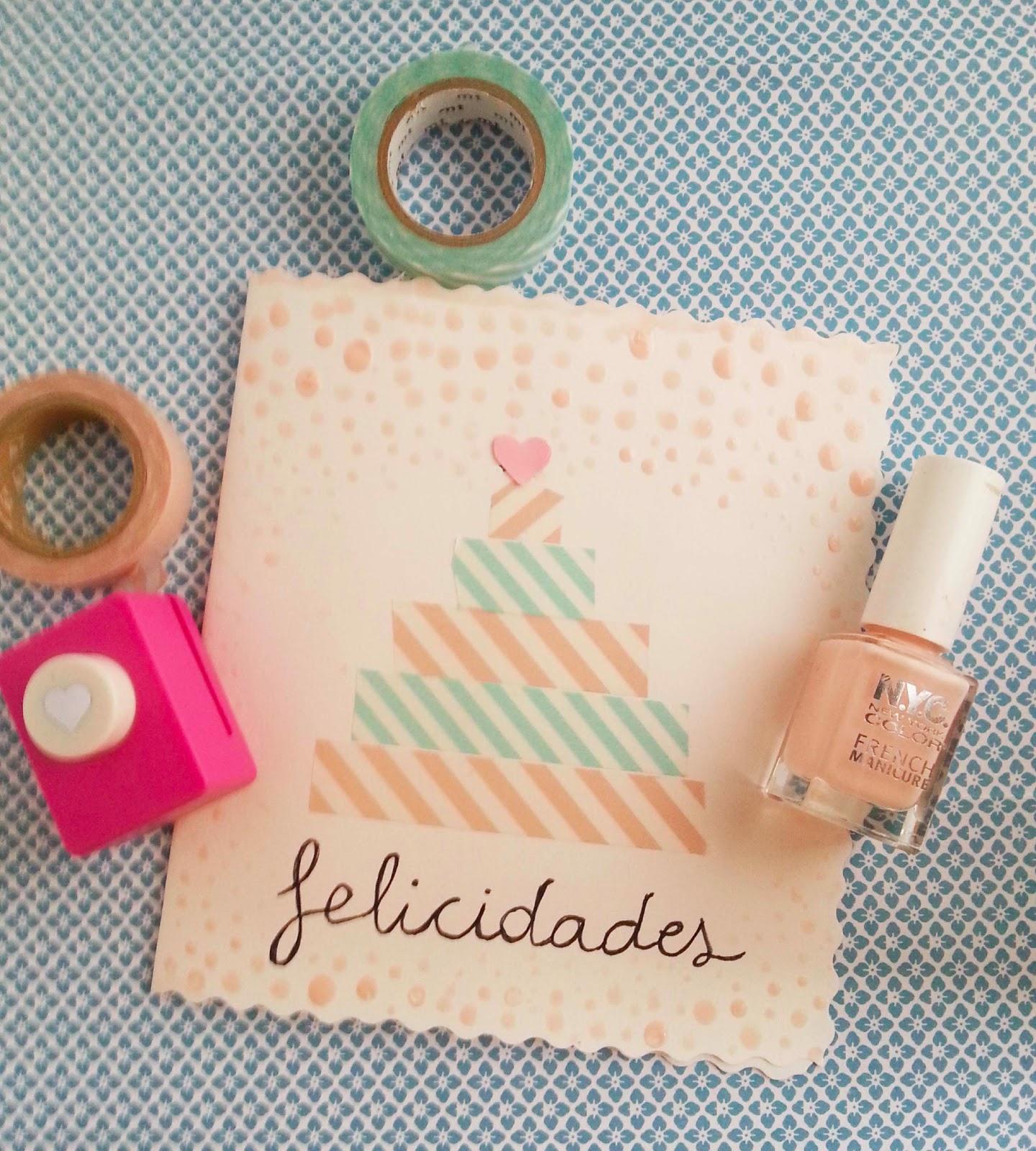 Diy tarjeta de cumplea os handbox craft lovers for Hacer tarjeta cumpleanos