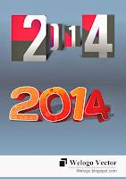 2014 Logo 3D Vector