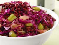 Salada de Feijão Azuki (vegana)