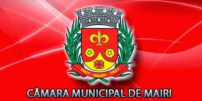 Site da Câmara Municipal de Vereadores de Mairi