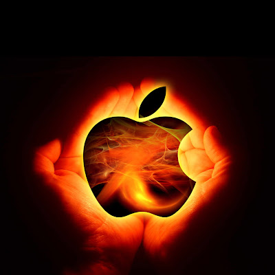 apple power logo wallpaper ipad