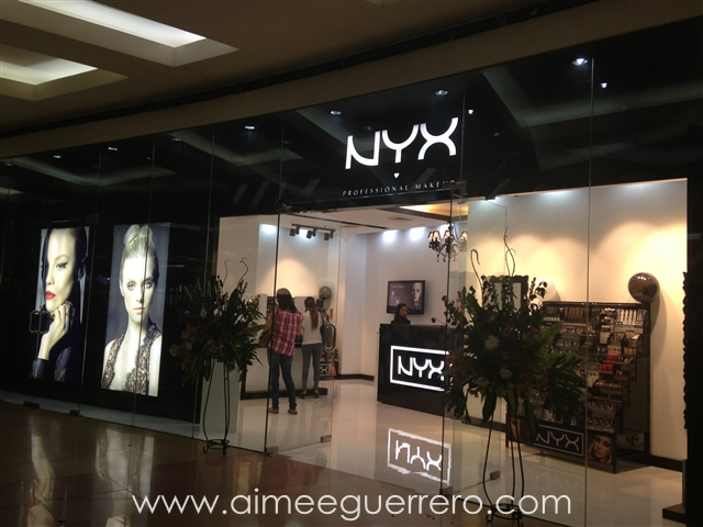 NYX Store at The Annex: SM North Edsa