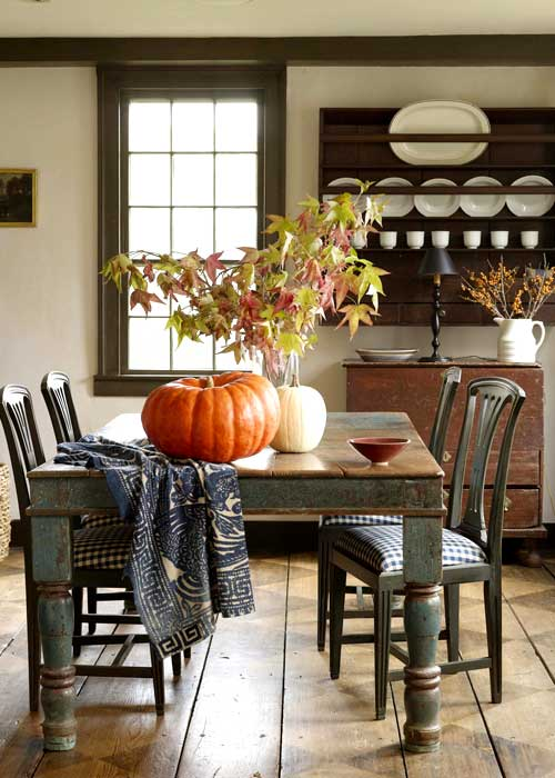 New home interior design country dining rooms for Country kitchen dining room ideas