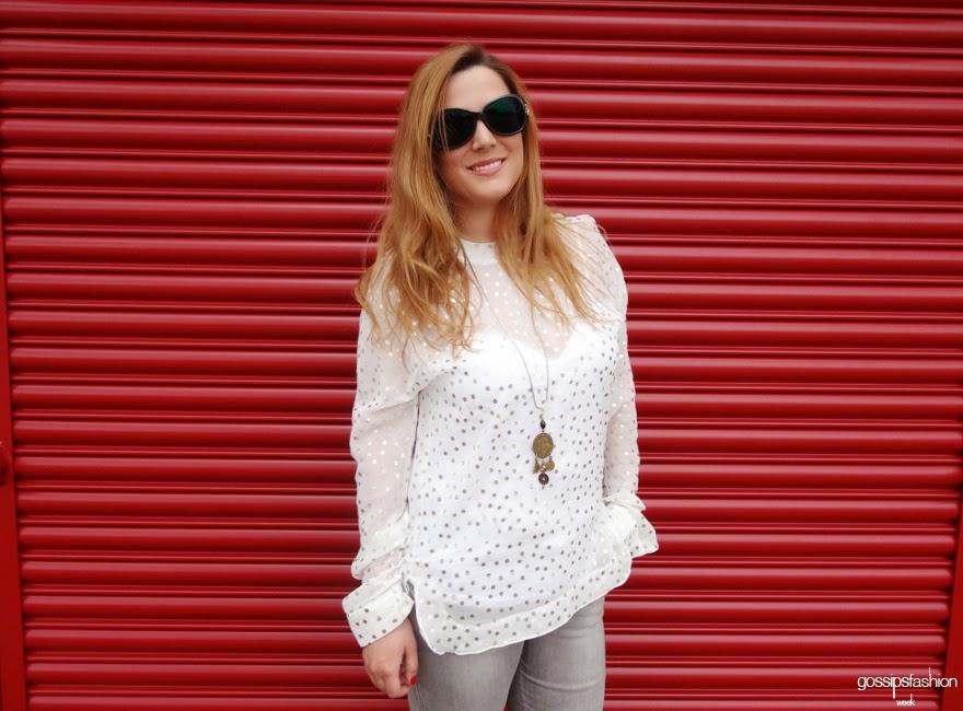 silver look plateado gossipsfashionweek olga gigirey gossip fashion week