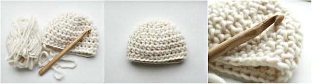 Marjoleinmaakt: crochet newborn hat