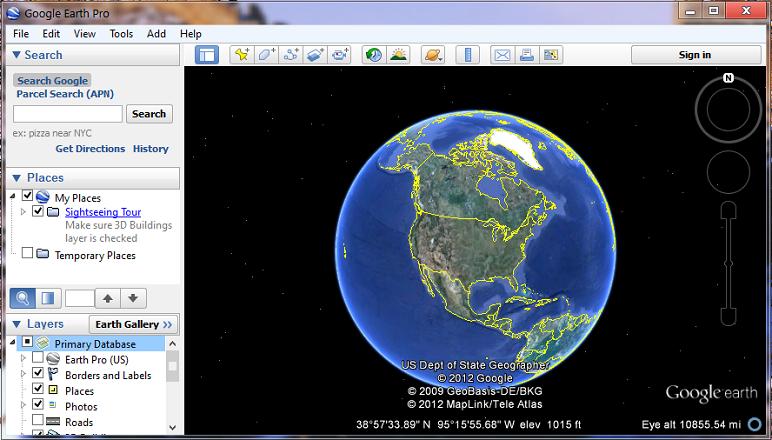 Google earth app for mac