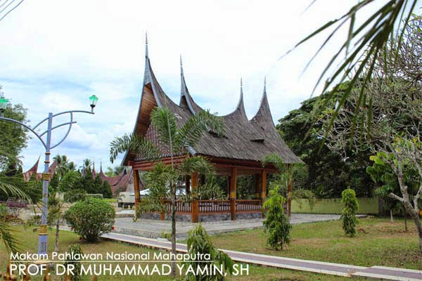 Berziarah ke Makan Muhammad Yamin Talawi Sawahlunto