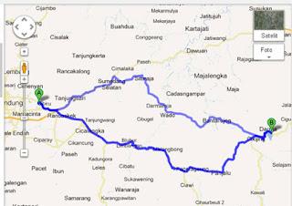 Gambar. 3 Google Maps Jagara, Darma-3