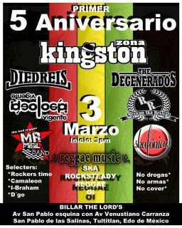 Aniversario Zona Kingston