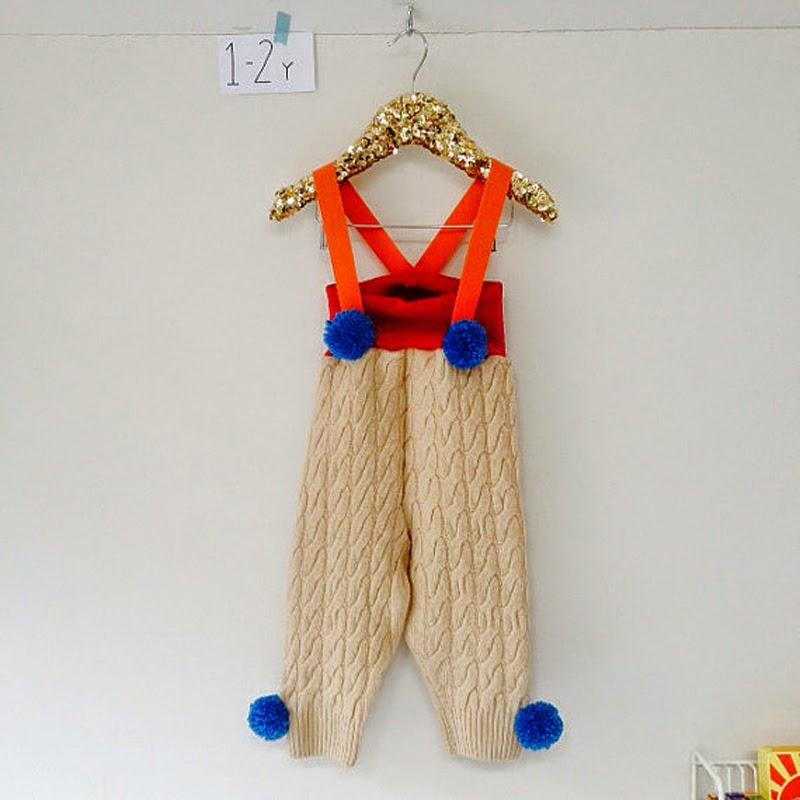 handmade children's dungerees