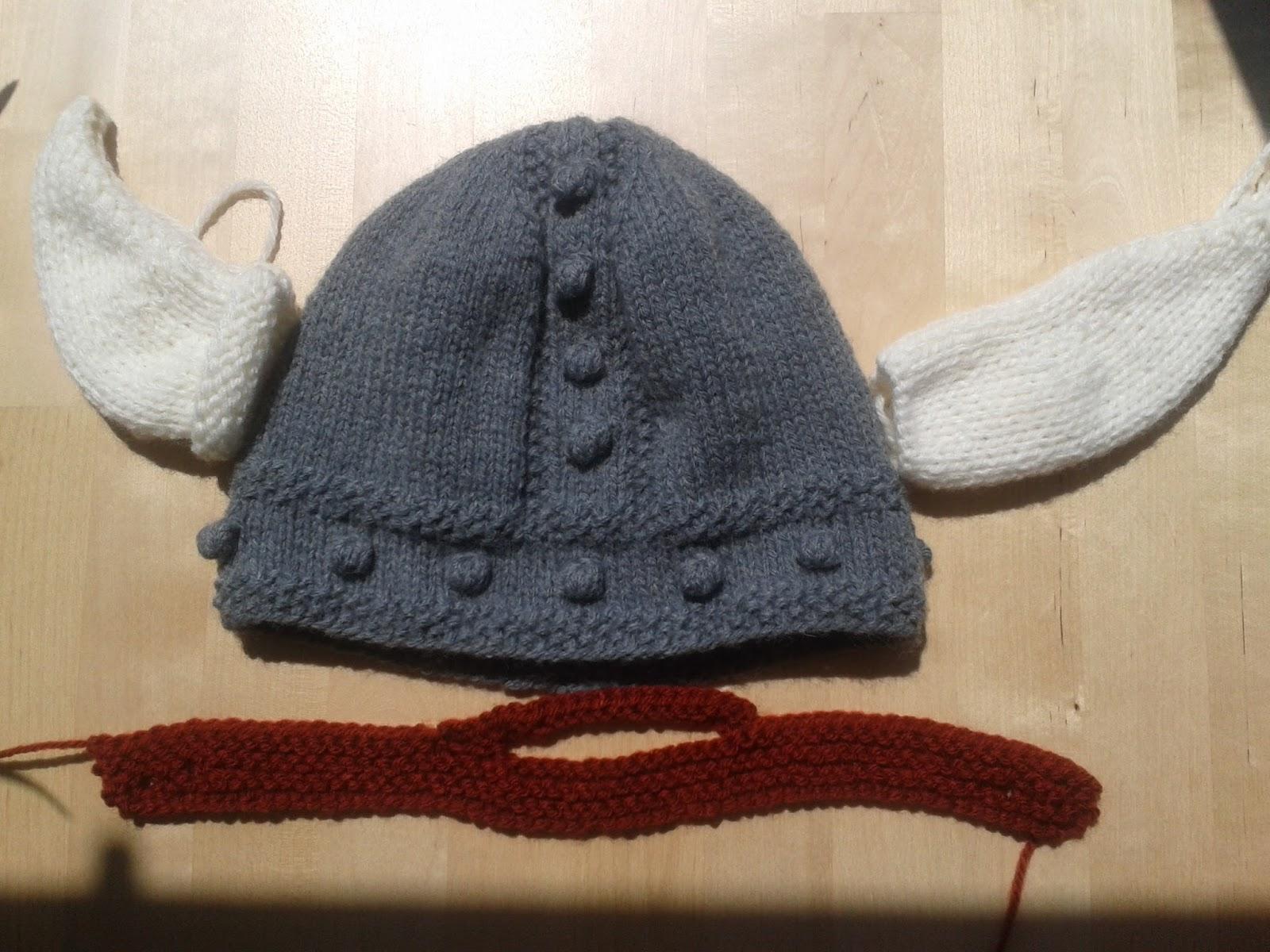 Apuros de una tejedora compulsiva: Gorro Vikingo I: Avances.