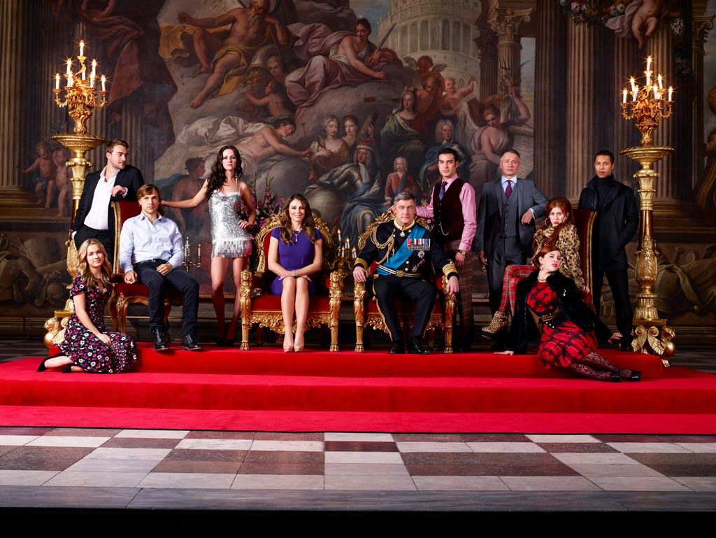 The royals. Toda la familia posando.