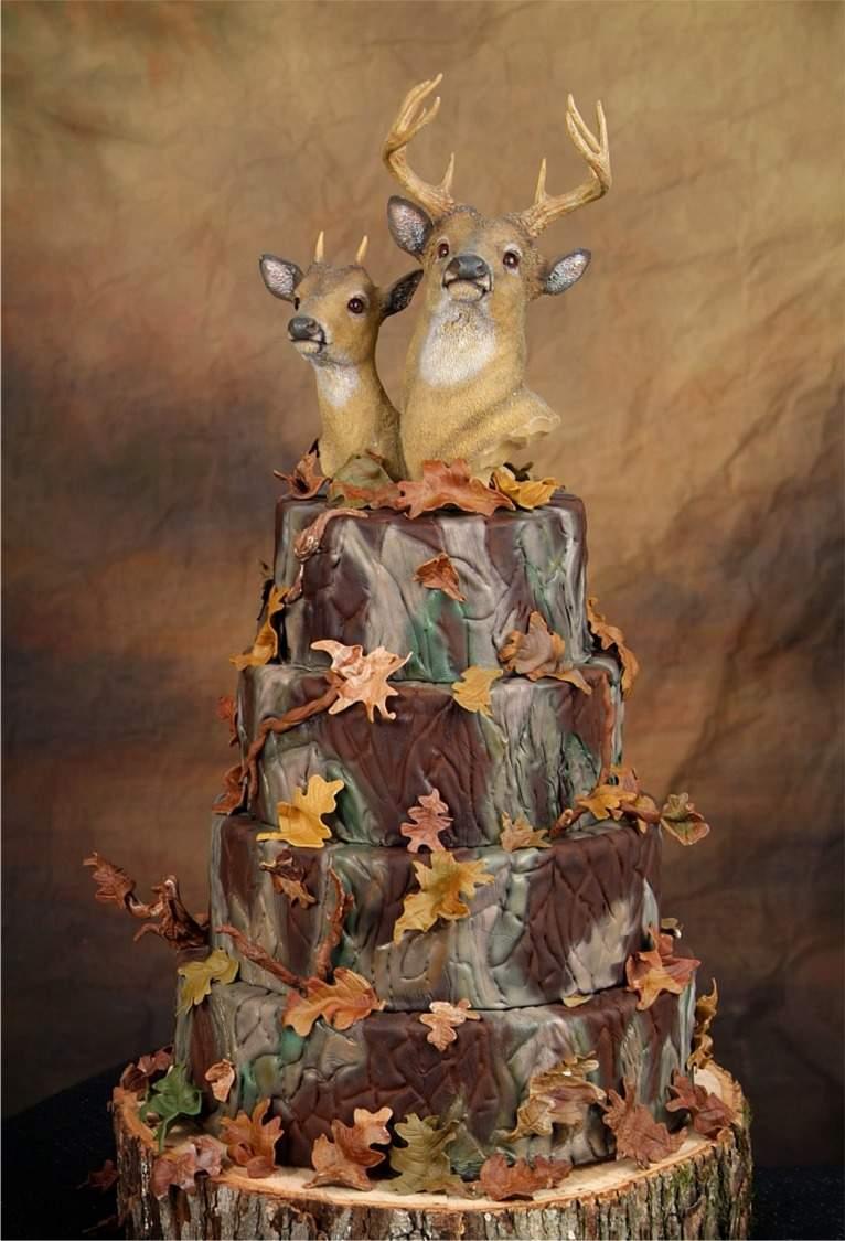 Redneck Wedding Cake Toppers