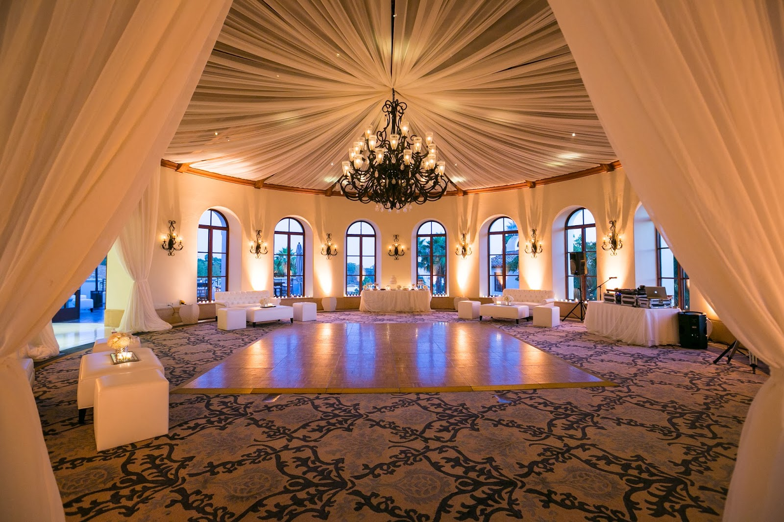 Bacara Resort Wedding Reception Florist