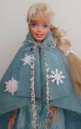 diy barbie blog: movie frozen inspired cape
