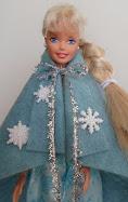 diy barbie blog: movie frozen inspired cape
