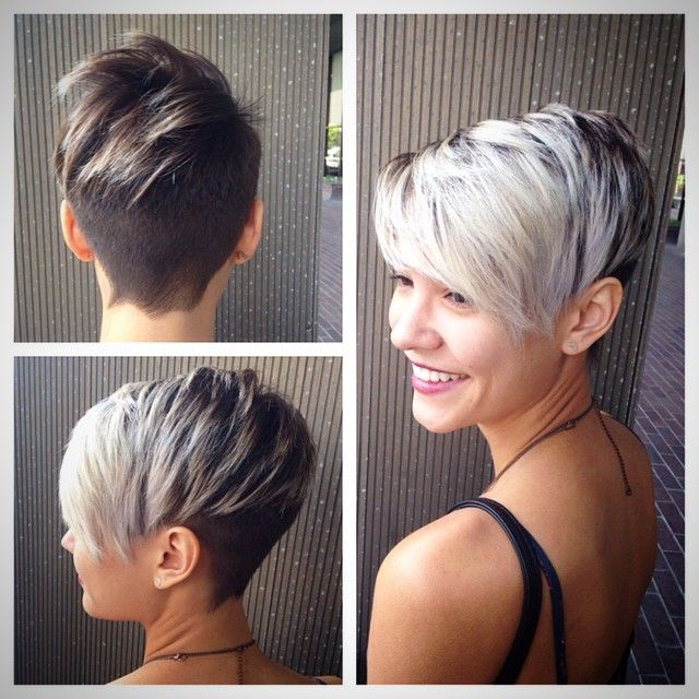 Silver Is The New Trendy Color For Short And Medium Hair