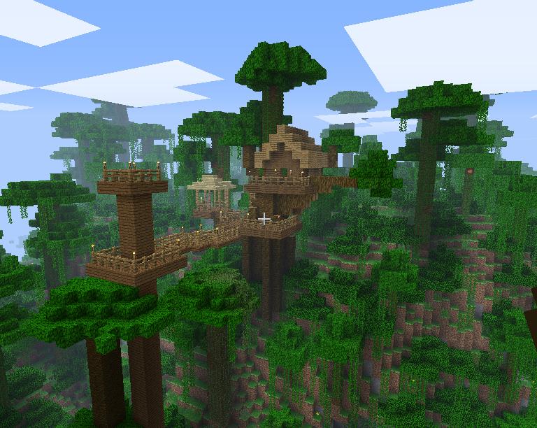 Minecraft Spielen Deutsch Minecraft Huser Zum Ausmalen Bild - Minecraft jungle hauser