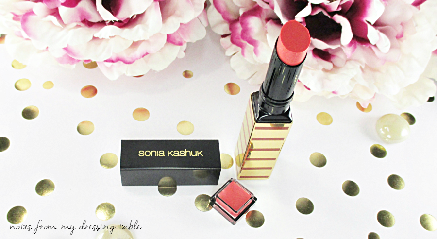Sonia Kashuk Shine Luxe Lipstick | Eden Details Gloss Bottom notesfrommydressingtable.com
