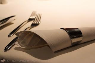 Tosca's Table Setting - Dusit Thani Hotel