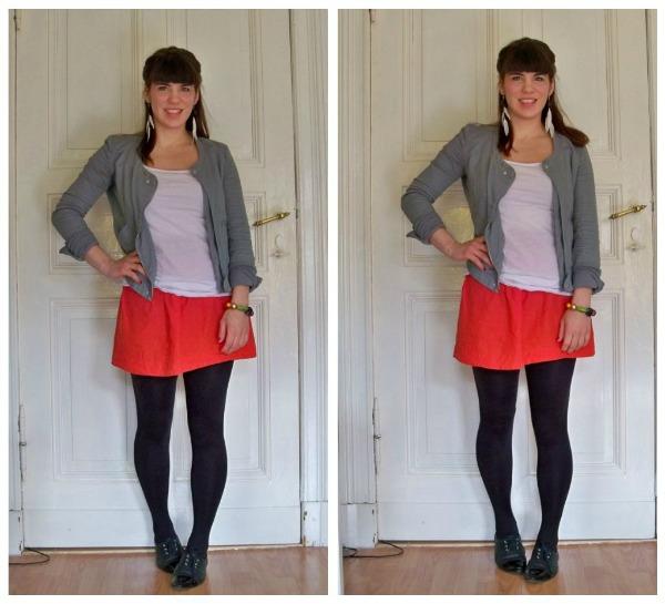 30 Kleidungsstücke für 30 Tage ergeben 30 verschiedene Outfits Tag 27