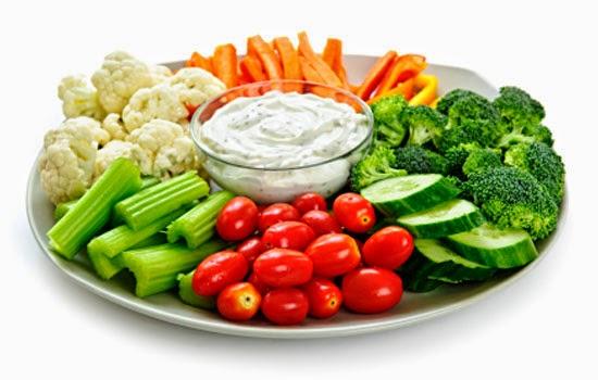 Eat veggies all day long.