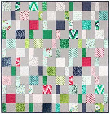 Triad Modern Quilt Guild: Easy and quick charity quilts -- squares and strips edition