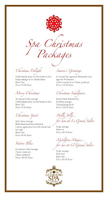 Excelsior hotel malta christmas spa packages excelsior for 12 days of christmas salon specials