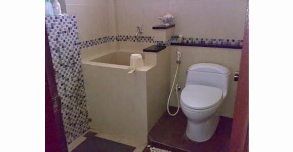 kamar mandi minimalis sederhana modern