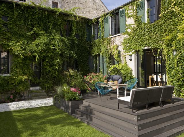 As cidades delgadas casa na fran a - Amenager une petite terrasse ...