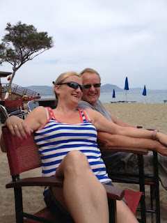Cyprus beach bar , anniversary, http://www.madmumof7.com