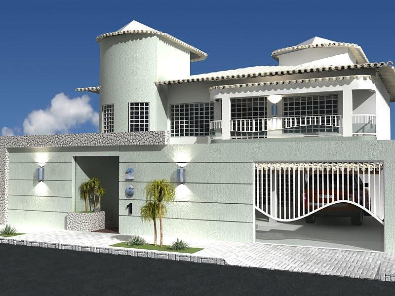 Fachadas de casas proyecto fachada de arquitectura - Fachadas arquitectura ...