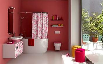 baos color rosa