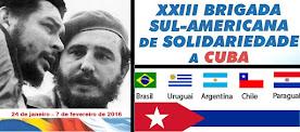 XXIII Brigada Sul-americana de Solidariedade a Cuba [2016]: