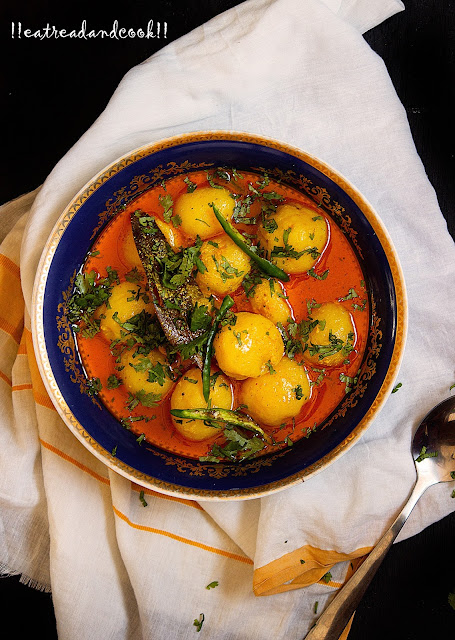 simple dahi wale aloo sabzi recipe