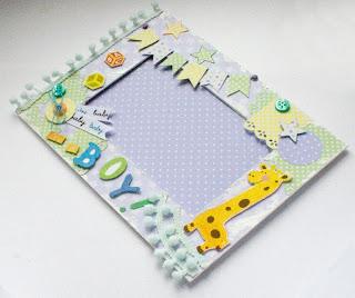 Красивая открытка новорожденного