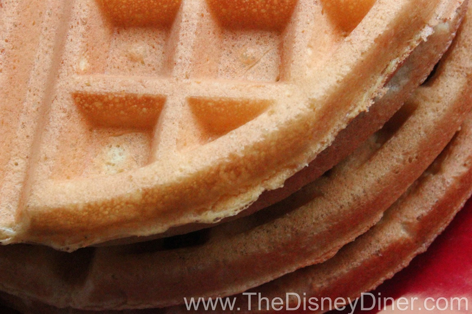 The Disney Diner: Disney World and Disneyland Waffle Recipe