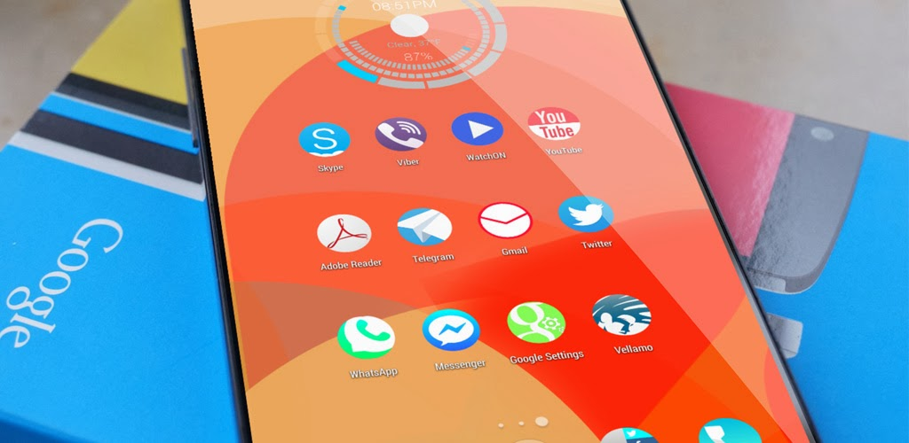 [Themes] Solstice HD Theme Icon Pack APK v3 FULL
